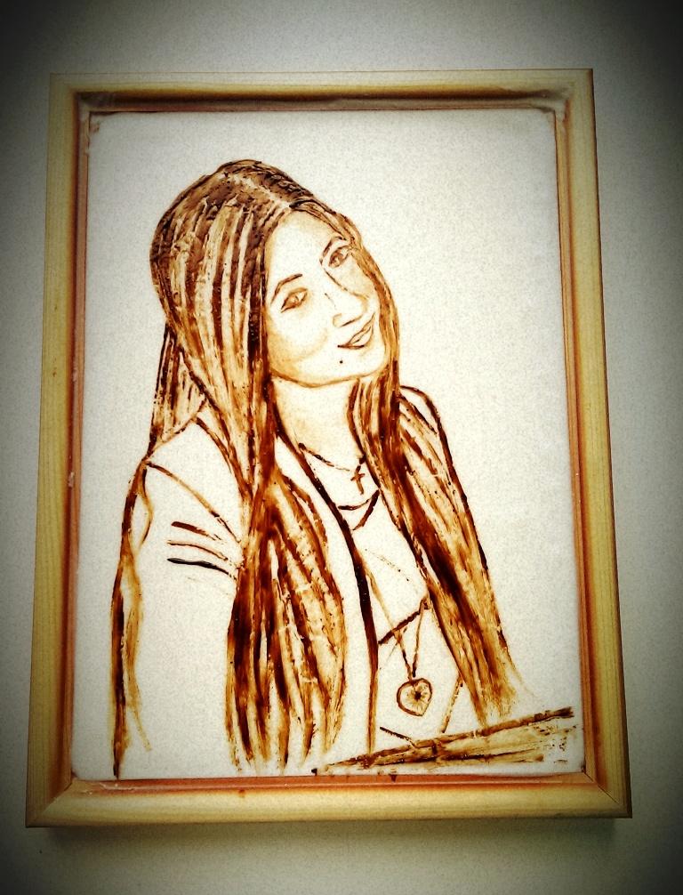 шоколадный портрет 1